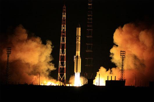 Nga phóng thành công vệ tinh viễn thông châu Âu