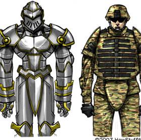 Tìm hiểu công nghệ áo giáp chất lỏng