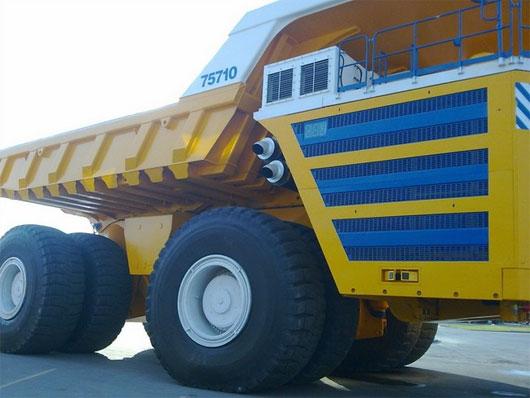 Belaz 75710 - Xe tải lớn nhất thế giới