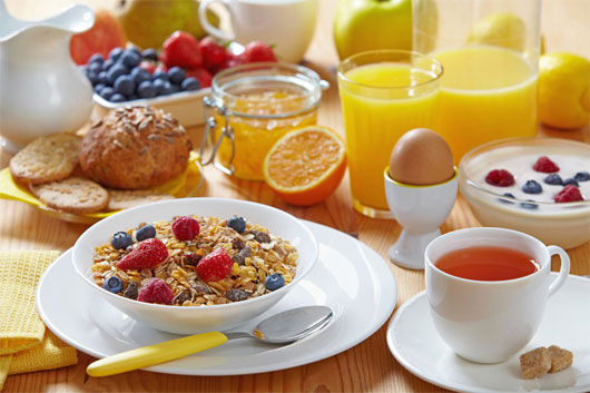 Ăn sáng no giúp tăng khả năng thụ thai