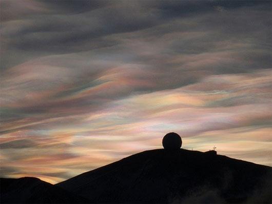 Sự xuất hiện của mây xà cừ là dấu hiệu đáng lo ngại cho thấy hiện tượng Trái đất đang ấm dần lên