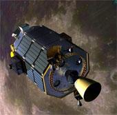 Tàu vũ trụ LADEE bay vào quỹ đạo Mặt Trăng