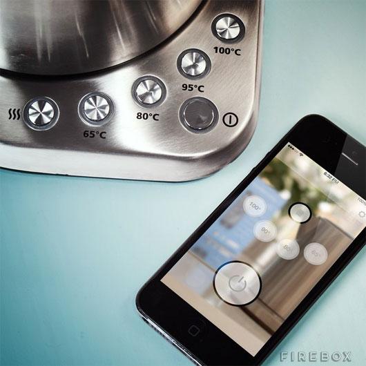 Ấm đun nước kết nối được WiFi, điều khiển bằng điện thoại
