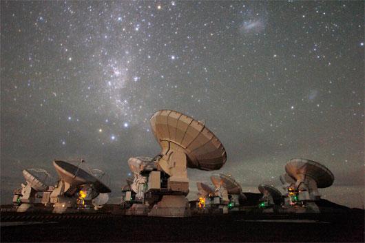 Kính viễn vọng vô tuyến Chile đạt tối đa công suất