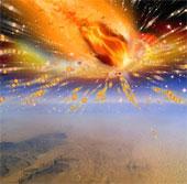 Sao chổi gây ra mưa lửa khổng lồ ở Trái Đất