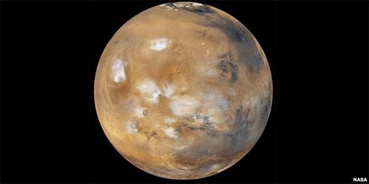 Tái tạo mây của Sao Hỏa trên Trái Đất