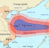Bão Nari tiến nhanh vào biển Đông