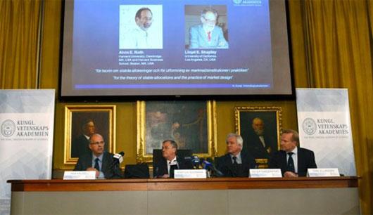 Nobel Kinh tế 2013 có thể về tay người Mỹ