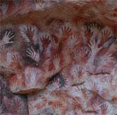 Bí ẩn dấu tay trong hang động xa xưa