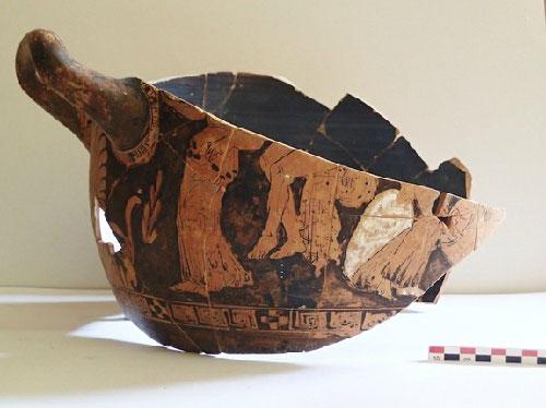 Khu mua sắm 2.500 tuổi ở Hy Lạp
