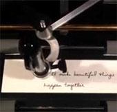 Nhờ robot viết thư tay