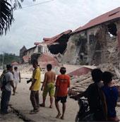 Động đất 7,2 độ Richter ở Philipines làm 20 người thiệt mạng
