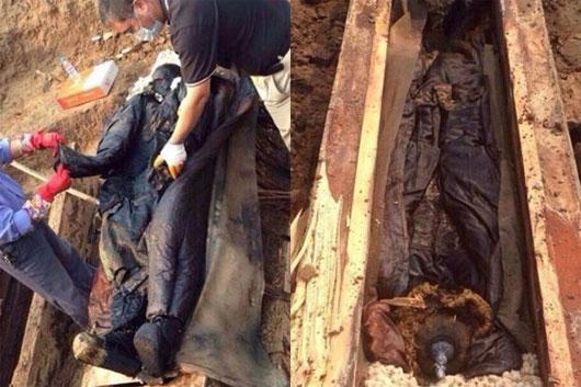 Phát hiện xác ướp bí ẩn 300 tuổi ở Trung Quốc