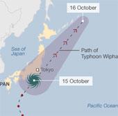 Bão lớn quét qua Nhật, 17 người chết