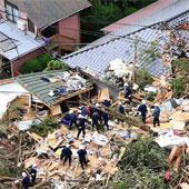 Video: Bão lớn quét qua Nhật Bản