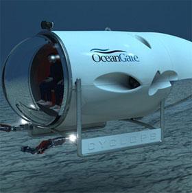 Thám hiểm biển sâu bằng tàu lặn Cyclops