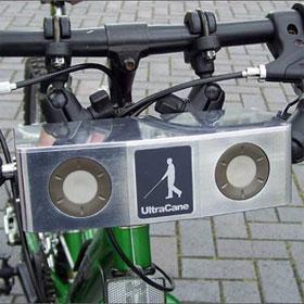 Thiết bị hỗ trợ giúp người khiếm thị tự đi xe đạp