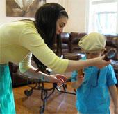 Vải kháng bẩn dành cho trẻ em