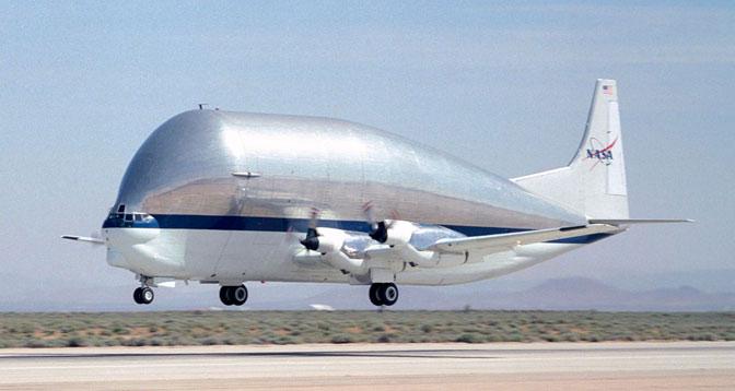Máy bay vận tải cỡ lớn Super Guppy