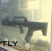 Video: Nga tiết lộ loại súng bắn cả trên cạn dưới nước