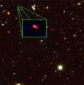 Tìm được thiên hà xa nhất