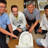 Bồn vệ sinh có khả năng tạo điện từ chất thải
