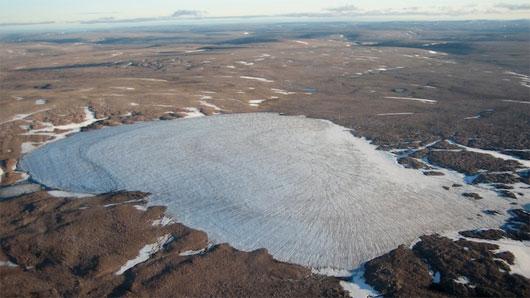 Nhiệt độ Bắc Cực lên cao nhất trong 44.000 năm qua