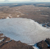 Nhiệt độ Bắc Cực lên cao nhất trong 44000 năm qua