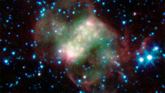 Đón Halloween, NASA phát hành ảnh không gian ma quái