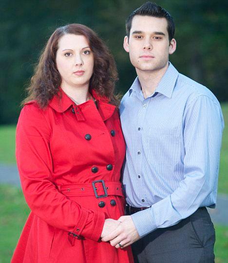 Dan Sayer và vợ