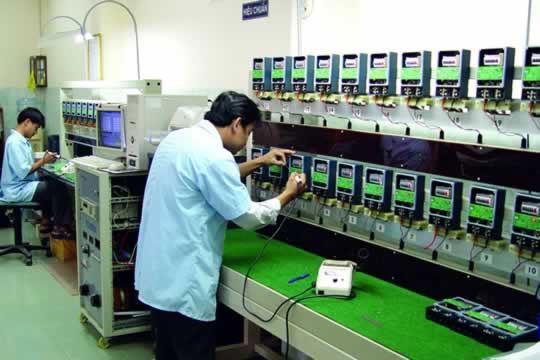 Công tơ điện tử Smart RF ngăn thất thoát điện năng