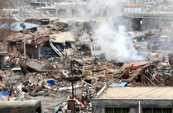 2 trận động đất rung chuyển miền tây Trung Quốc