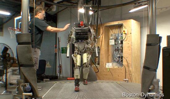 Robot hít đất, tập thể dục