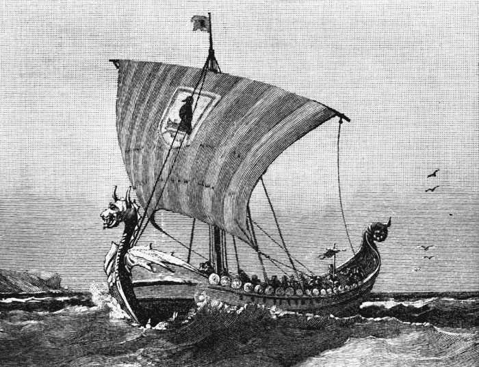 Theo truyền thuyết Viking, đá mặt trời giúp những tên cướp biển tìm ra được hướng đi đúng.