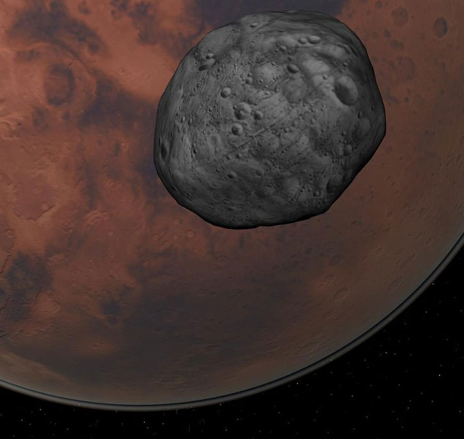 Nga sắp lấy đất trên vệ tinh của sao Hỏa