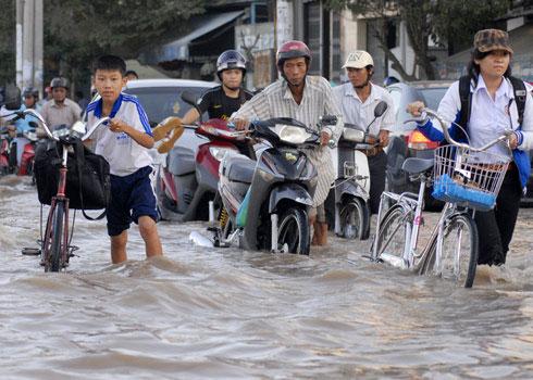 Cần Thơ xây dựng kịch bản biến đổi khí hậu chi tiết