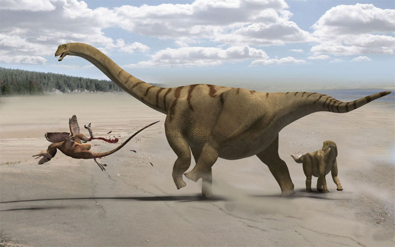 Phát hiện khủng long cổ dài ở lục địa băng