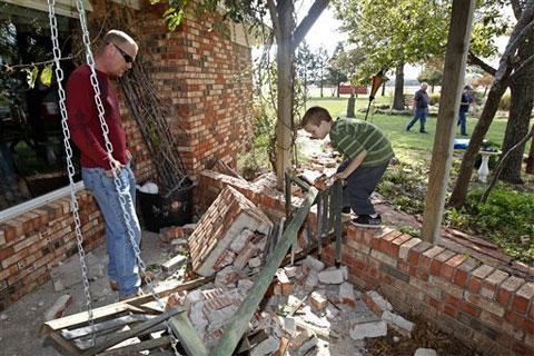 Địa chấn mạnh chưa từng có ở miền nam nước Mỹ