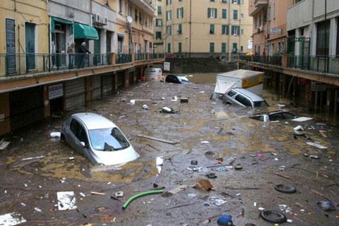 Lũ tàn phá Italy