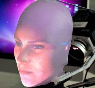 Robot có khuôn mặt biểu cảm giống người