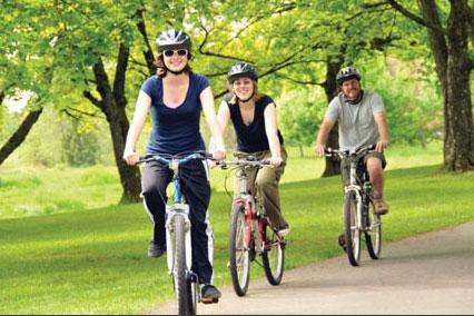 Đi mua hàng bằng xe đạp có lợi hơn cho sức khỏe