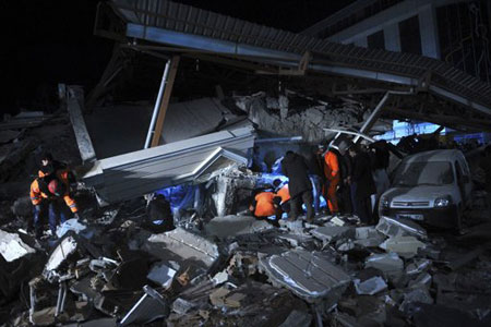 Video: Quay được cảnh động đất tại Thổ Nhĩ Kỳ