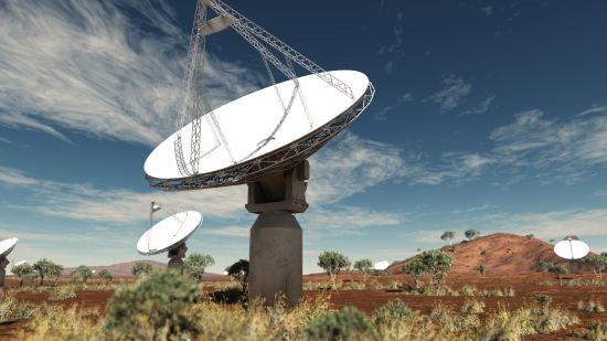 Australia xin lắp đặt kính viễn vọng vô tuyến SKA