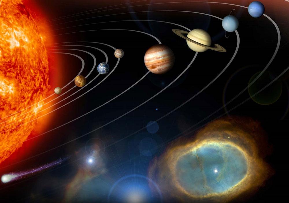 Hành tinh của Hệ mặt trời bị thất lạc trong vũ trụ