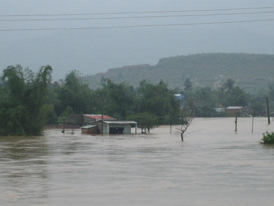 Nền nhà cho người dân vùng lũ, lụt
