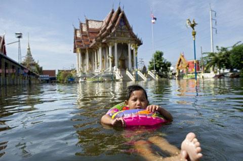 Lũ Thái Lan đe dọa sinh vật biển