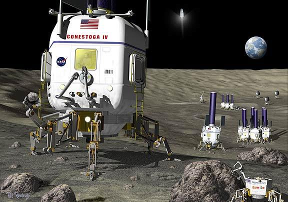 NASA muốn khách du lịch không đụng tới di tích họ để lại trên Mặt trăng.