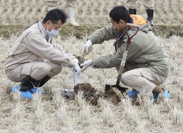 Nhật Bản cấm xuất gạo khỏi Fukushima