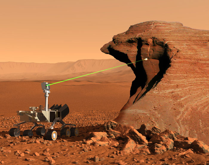 """Tàu Curiosity mang """"hàng độc"""" tới hành tinh Đỏ"""