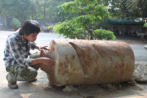Khối đá cổ Trường Yên.